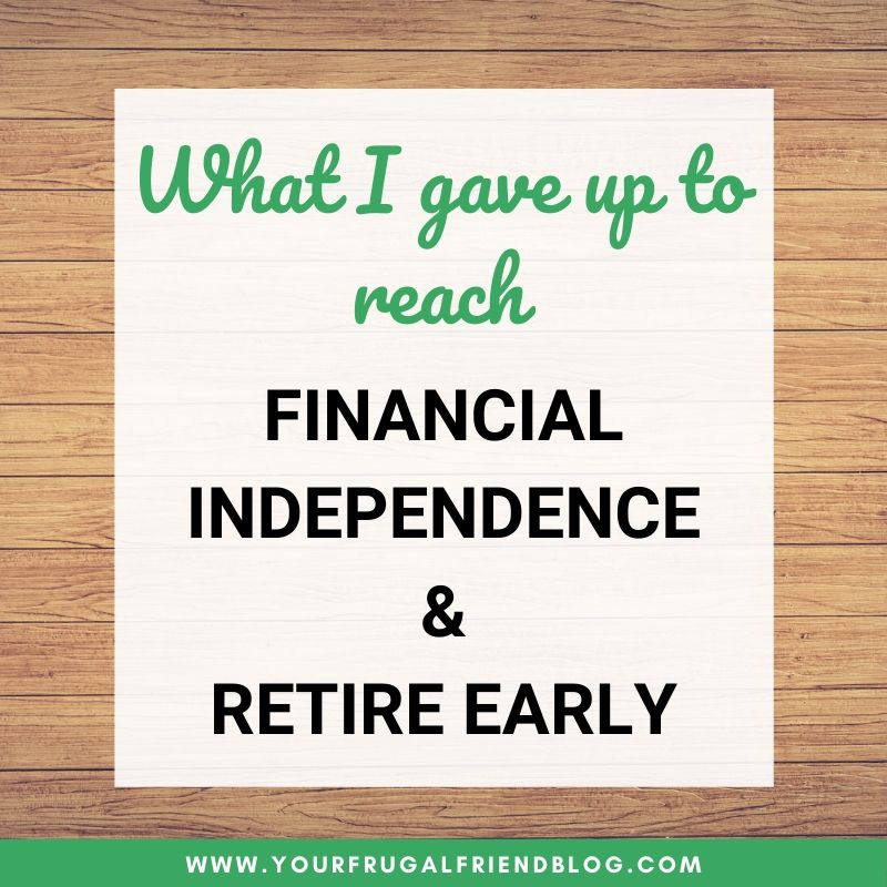 financial independence retire early (FIRE)