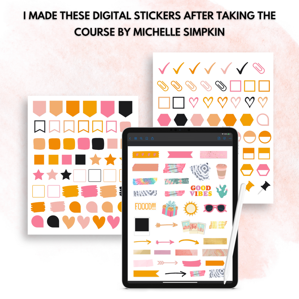 how to make digital stickers